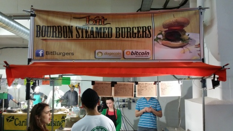 Bitcoin Burger Bricklane 03.2014