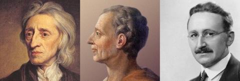 Locke-Montesquieu-Hayek